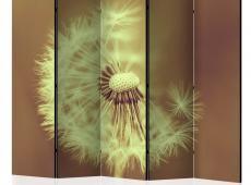 Paraván - dandelion (sepia) II [Room Dividers]